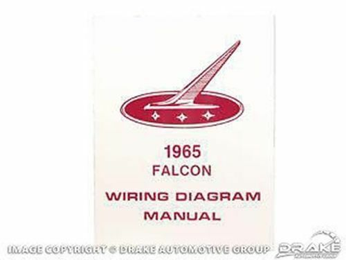 ford fusion seat belt wiring diagram 1965 ford falcon wiring diagram manual ebay  1965 ford falcon wiring diagram