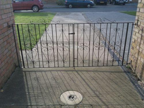 Wrought Iron Driveway Gates Ebay