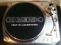 Homemix TT500M Belt Drive x2 Turntable + Mixer