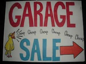 The BIGGEST and BEST Garage Sale EVER  JUNE 23