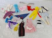 Vintage Barbie Doll Clothes Lot