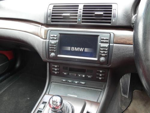 Bmw E46 Sat Nav Ebay