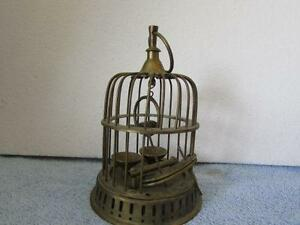 Antique Bird Cage Stand