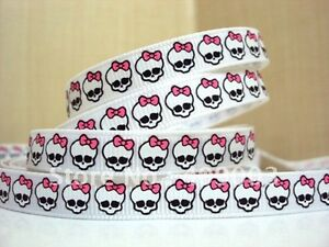 Monster High Ribbon 3/8