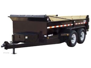 Dump trailer wanted tandem. Ball hitch