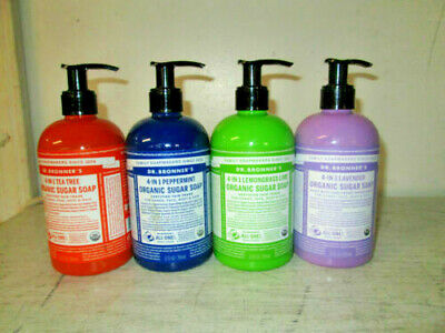CHOICE SCENT Dr. Bronner's 4-In-1 Organic Sugar Soap Face, Body, Hair & -