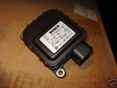 3 X Bosch 12 Volt Variable Servo-100 Motion-gearedcar Heater Control Motor-new