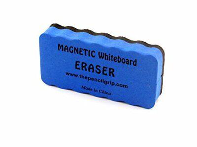 Magnetic Whiteboard Eraser 2 X 4 Inches Ergonomic Blue 1 Per Pack Tpg-352