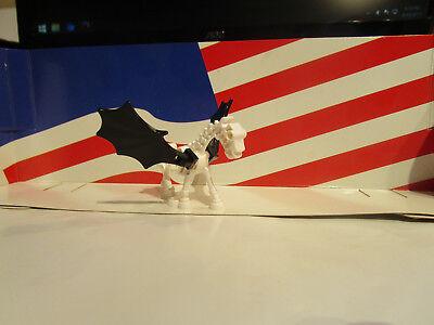 LEGO SKELETON/SKELETAL HORSE WHITE/BLACK WINGS HARRY POTTER/CASTLE,HALLOWEEN ()