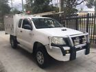 HiLux Cab Chassis Toyota Passenger Vehicles