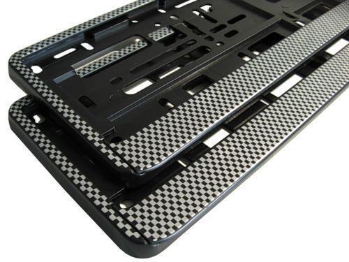 kennzeichenhalter carbon kennzeichenhalterungen ebay. Black Bedroom Furniture Sets. Home Design Ideas