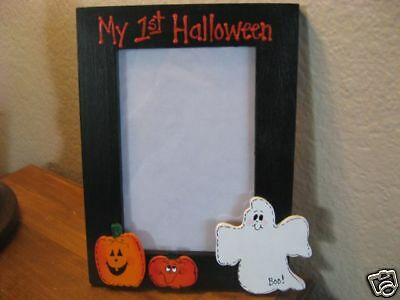 MY FIRST HALLOWEEN - halloween photo picture frame