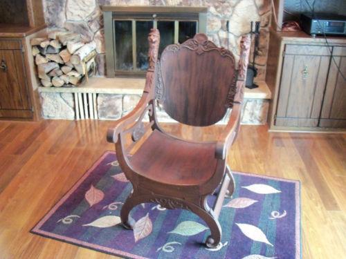 Antique Lion Head Chair Ebay