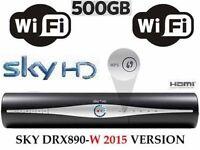 SKY PLUS+ HD BOX WIFI 500GB WPS DRX890WL LATEST MODEL BUILT IN WIRELESS (WIFI)