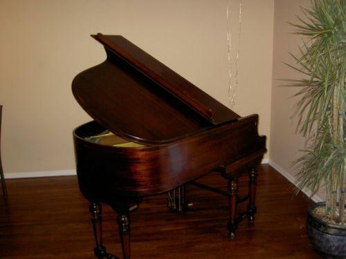 Mahogany Baby Grand Piano Ebay