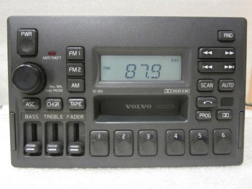 Volvo V70 Radio