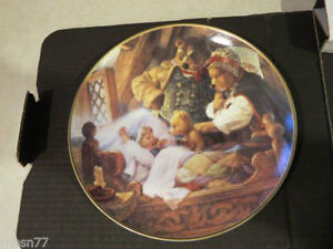 Goldilocks and the Three Bears Collectors Plate