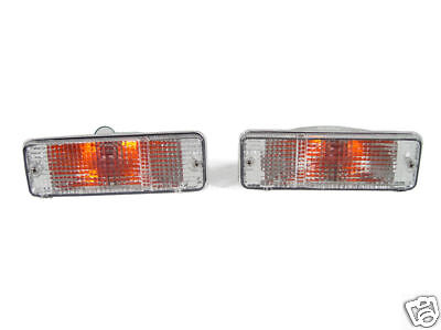 All Clear DEPO Front Bumper Signal Lights FIT 84 85 86 87 88 89 Toyota 4Runner