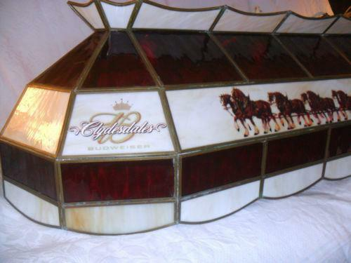 budweiser pool table light ebay. Black Bedroom Furniture Sets. Home Design Ideas