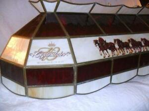 budweiser pool table light. Black Bedroom Furniture Sets. Home Design Ideas