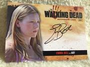 Walking Dead Signed Card