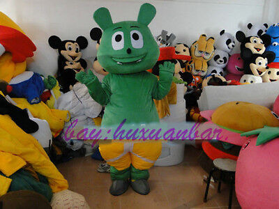 Gummi Bear Costume (2020 Gummy Bear Mascot Costume Cosplay Birthday Fancy Dress Outfits Suits)