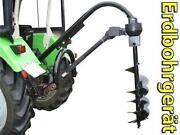 Erdbohrer Traktor