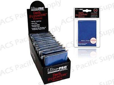 600 ULTRA PRO BLUE DECK PROTECTORS SLEEVES Standard MTG Colors Lot