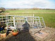 Galvanised Farm Gates