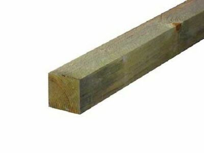 FENCE POSTS GARDEN FENCING PANELS STAKE TREATED 2.4M (8FT APPROX) 3