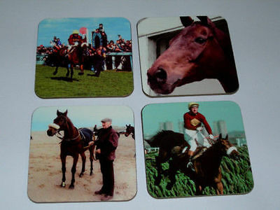 Red Rum Horse Racing Legend COASTER Set