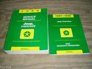 1998 Jeep Cherokee Service Manual