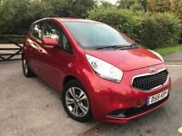 Kia Venga 2 EcoDynamics 2016 RED AUTO petrol 1.6 manual 11,000 MILES ONLY