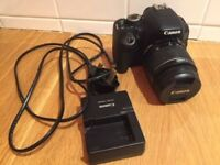 Canon EOS 600D Camera with EFS 18-55mm lens