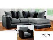 Charcoal Corner Sofa