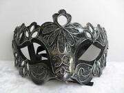 Silver Masquerade Masks