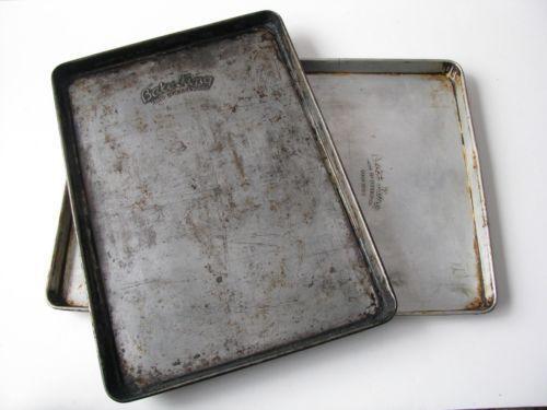 Vintage Aluminum Baking Pans Ebay