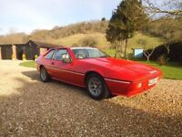 1984 Lotus Excel 2.2 Twin-Cam Manual. Finished in Red. MOT August.