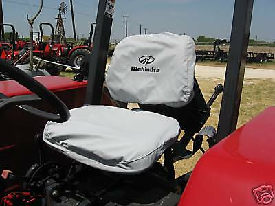 Mahindra Tractor Seat Cover -small Back Rest