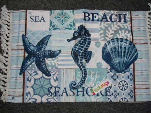 Seashell Rug Ebay