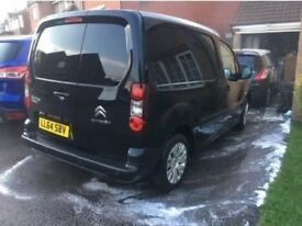 Black Citroen Berlingo Van FSH 42k!!