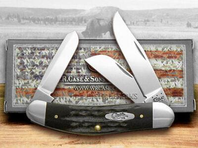 Case xx Jigged Genuine Buffalo Horn Sowbelly Pocket Knives 65015 Knife