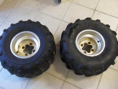 Honda Factory Rims >> Used Honda ATV Wheels | eBay