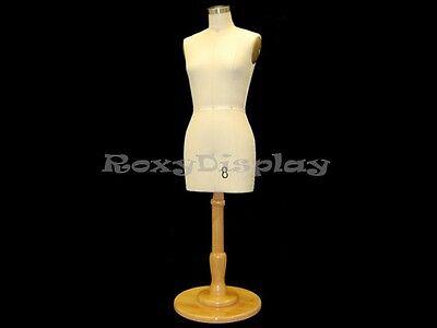Half Scale Female Half Body Dress Form Table Top Display Size8half-stbs-c06mnx