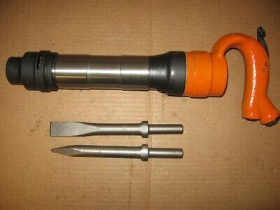 American Pneumatic Air Chipping Hammer Apt 654r 2 Bits
