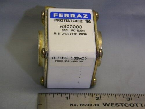 Ferraz Protistor 630A Square Body Semiconductor Fuse