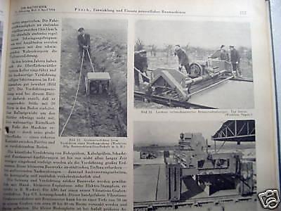 Die Bautechnik Fachschrift Bauingenieurwesen 31.Jg.1954