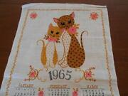 Vintage Cat Towel