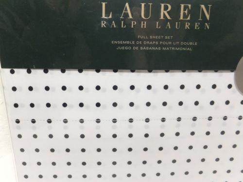 Ralph Lauren Polka Dot Sheets Ebay