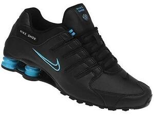 6a502334427c Women s Black Nike Shox NZ
